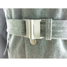 Load image into Gallery viewer, WWii Italy Italian Army M37 Grey Green Wool Belt + Buckle