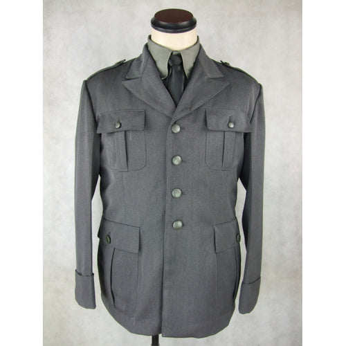 WW2 Italy Italian Officer Gabardine M40 Tunic Plain