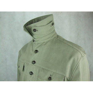 WW2 Italian Giacca A Vento Wind Coat Giubba Grey Enlisted
