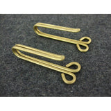 WWII World War 2 Finnish Brass Belt Hooks Reproduction