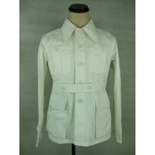 Load image into Gallery viewer, WWII WW2 Italy Italian M40 White Cotton Tunic