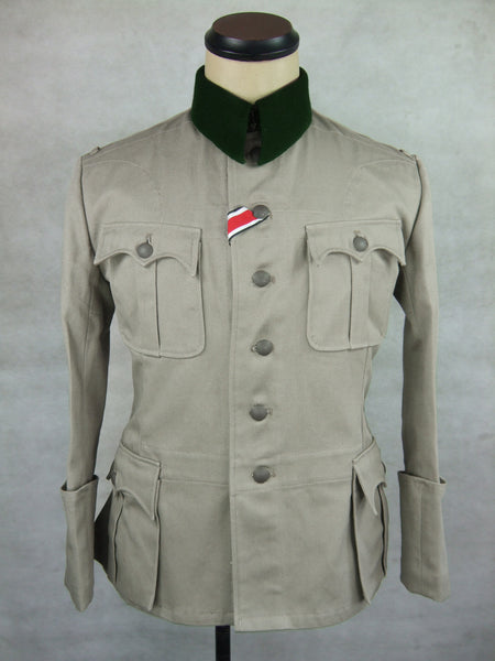 WWII German Sudfront Officer M36 Field Tunic Jacket