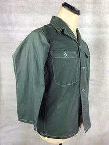 WW2 Janpanese Army IJA Tropics 2/3 Sleeves Shirt Dark Green