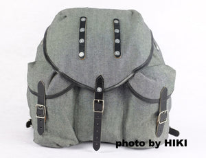WW2 World War 2 Finland Finnish Rucksack Bag Gray