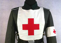 WW2 German Medic Red Cross Chest Apron & Armband