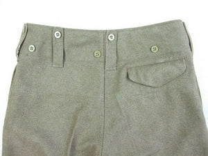 WW2 Great Britain British Army P37 Battle Dress Officer Wool Trousers Pants