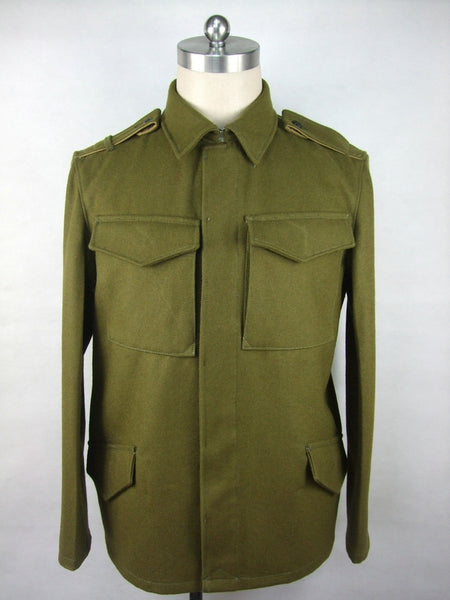 WWII Czechoslovak Green Wool VZ.21 VZ21 Field Tunic Jacket