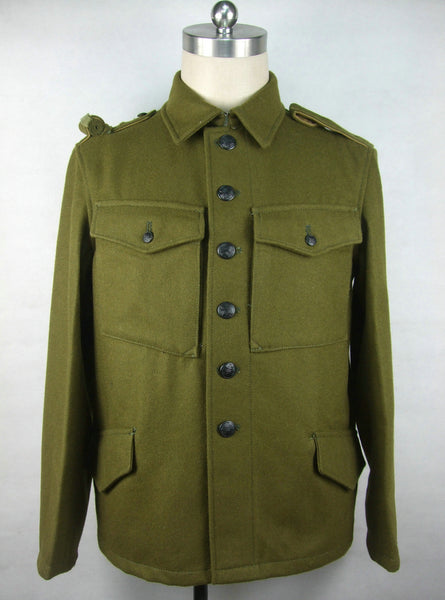 WWII Czechoslovak Green Wool VZ.30 VZ30 Field Tunic Jacket