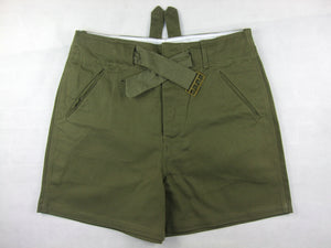 WWII German DAK Afrikakorps Combat Shorts Green