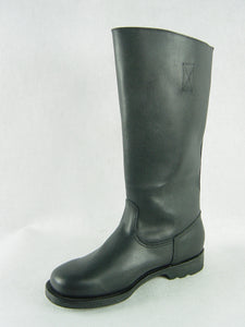 WWII Soviet Red Army Leather Soldier Boots Reproduction