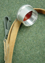Load image into Gallery viewer, WWII German Canteen's Wool Felt Cover & Leather Carry Strap 1L