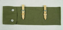 Load image into Gallery viewer, WWII German Zeltbahnen Bag Green Fabric Reproduction Zeltzubehör