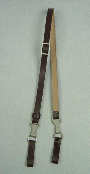 WW2 German Elite Cross Strap Dark Brown