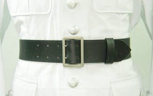 WW2 German Officer Double Claw Belt Rero Black