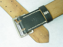 Load image into Gallery viewer, WW2 German Officer Double Claw Belt Rero Black