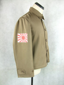 WW2 Japanese Navy IJN Airforce Flight Jacket Pilot Smock