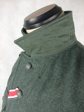 Load image into Gallery viewer, WWII World War 2 German M43 Field Tunic Grey Green Wool