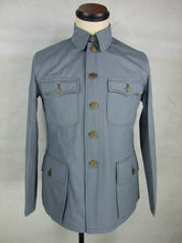 Load image into Gallery viewer, WW2 China Chinese Officer KMT Field Jacket Tunic Grey Gray