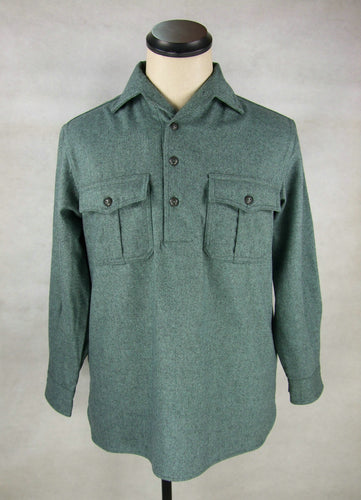 WW2 Italy Italian M1935 M35 Winter Shirt Top Flannel
