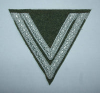 WWII German Sleeve Gefreiter Chevrons Army Fieldgrey Wool