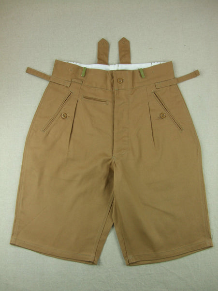 WWII German Elite Afrika Tropic Shorts