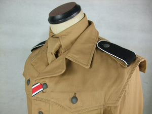 WWII German Elite Afrikakorps Combat Tunic Jacket