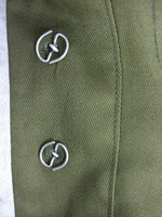 WWII German DAK Field Tunic Jacket With Insignia Green