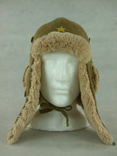 Load image into Gallery viewer, WWII Imperial Japanese Army IJA Winter Cap