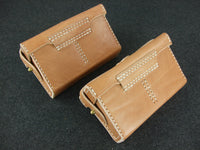 WWII IJA Type 38 Ammo Front Pouch T38 Pair