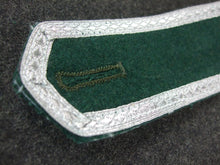 Load image into Gallery viewer, WW2 German Pre-War Early Shoulder Boards Sergeant Pair Dark Green