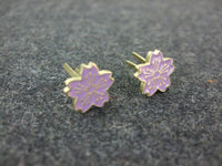 WWII Japan IJN Cherry Blossom Purple X2