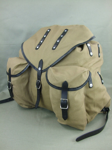 WW2 World War 2 Finland Finnish Rucksack Bag Tan