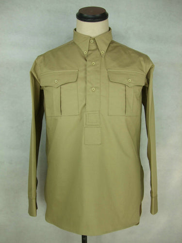 WWII France French Enlisted M1935 M35 Cotton Service Shirt