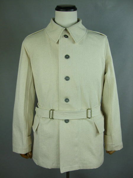 WW2 France French Army Model 1938 Bourgeron Jacket HBT Linen