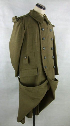 WW2 France French M22 M35 Wool Great Coat Overcoat