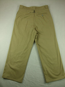 WW2 France French Colonial M38 Officer Pants Trousers Khaki