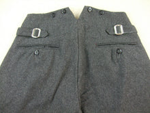 Load image into Gallery viewer, WW2 Finnish M36 Pussihousut Sarkaa Stonegrey Wool Field Breeches