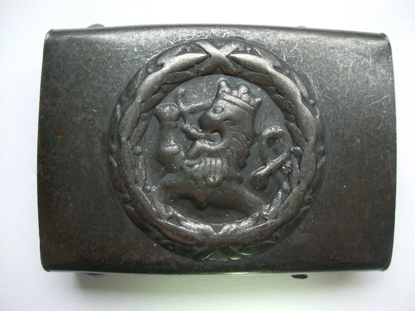 WW2 WWii Finland Finnish EM Soldier Belt Buckle