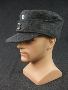 WW2 Finnish EM Soldier Field Cap With Badge 100% Accurate Repro