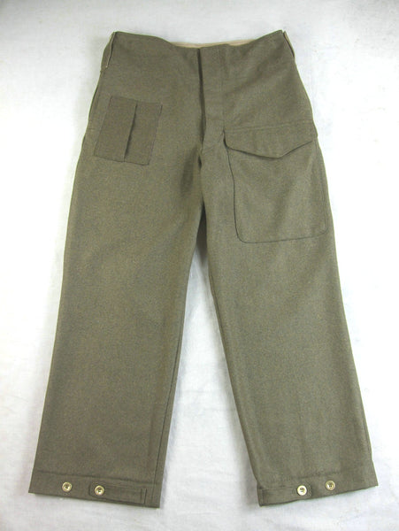 WW2 British Army P37 Battle Wool Pants Enlisted Soldier