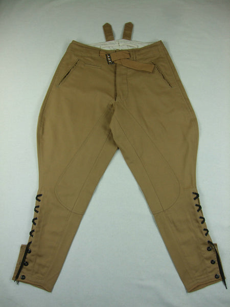 WWII German DAK Afrikakorps Breeches Sand
