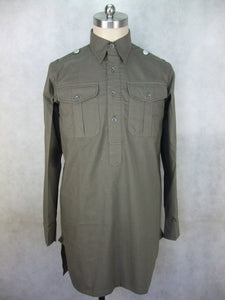 WWII German Heer Elite M43 Service Shirt Dark Grey
