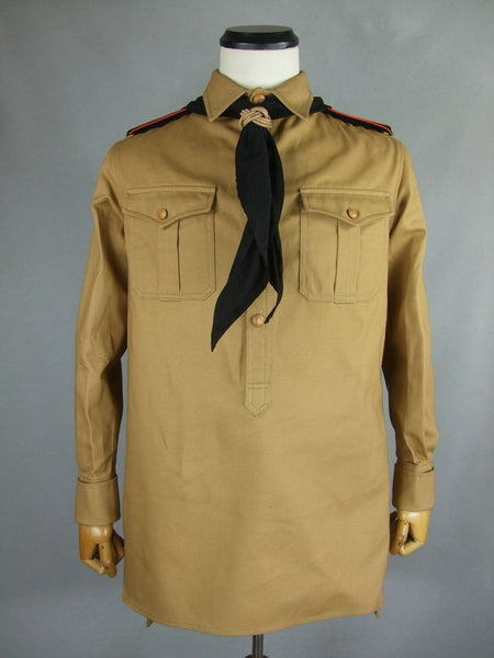 WWII German Youth Jugend HJ Shirt & Scarf