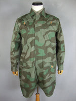 WWII German Luftwaffe LW Fallschirmjage Smock Splinter Camo
