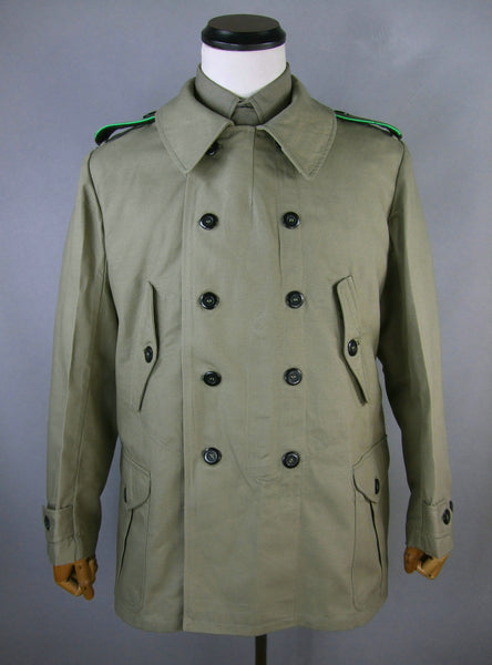 WWII German Gebirgsjägers Mountain Troops Windproof Coat Gray