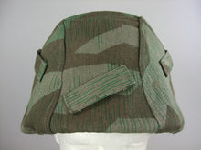 Load image into Gallery viewer, WWII German Split Camo Helmet Cover