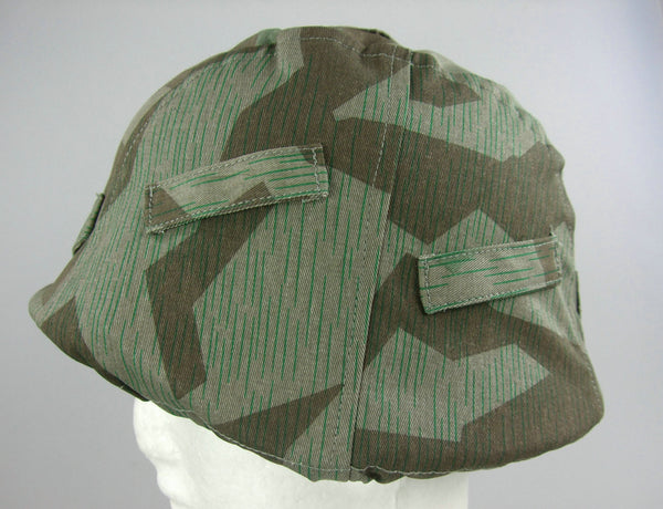 WWII German Splinter Camo Helmet Cover