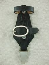 Load image into Gallery viewer, WWII German Vertical Dagger Hanger Black Repro