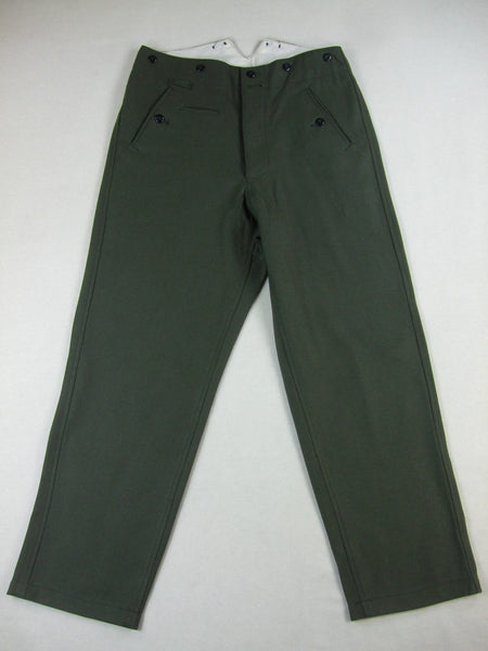WW2 German Field Grey Wool M37 M40 Trousers Pants
