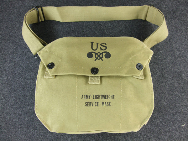 WWII US Army Lightweight Gas Mask Bag